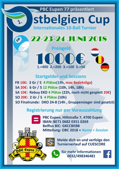 Ostbelgien Cup 2018 Deutsch