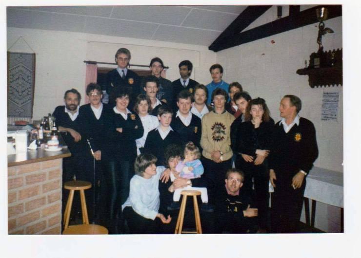 1990 Erstes Vereinsheim Sportzentrum