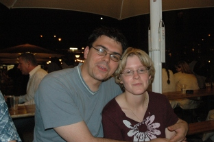 Christian und Freundin