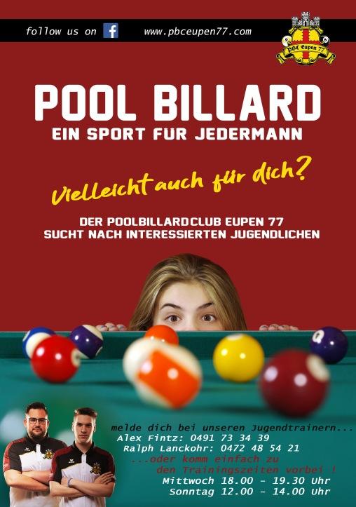 Plakat Jugendtraining2
